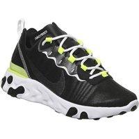 Nike React Element 55 BLACK WHITE LEMON F