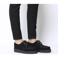 shop for Underground Wulfrun Single Creeper BLACK SUEDE at Shopo