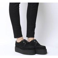shop for Underground Wulfrun Double Creeper BLACK SUEDE at Shopo