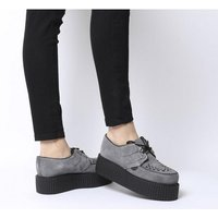 shop for Underground Wulfrun Double Creeper GREY SUEDE at Shopo
