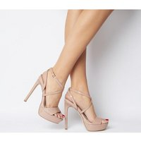 shop for Office High Sky- Platform NUDE PATENT at Shopo