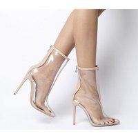 shop for Ego Selina Clear Boot NUDE at Shopo