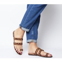 Office O-selfie- Toe Loop Sandal LEOPARD