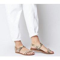 Office Starfish- Embellished Sandal SNAKE WITH EMBELLISHMENT