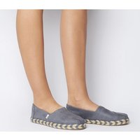 shop for Toms Alpargata Rope GREY ROPE SOLE EXCLUSIVE at Shopo