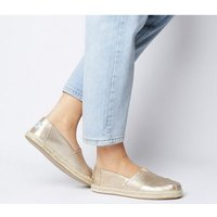 shop for Toms Alpargata Rope ROSE GOLD METALLIC EXCLUSIVE at Shopo