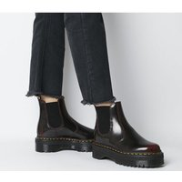 shop for Dr. Martens 2976 Quad Chelsea CHERRY RED at Shopo