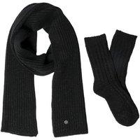 Birkenstock Xmas 2p Bling Scarf & Socks BLACK,Schwarz