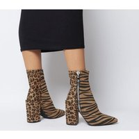 shop for Ego Lucian Boot MIXED ANIMAL PRINT at Shopo