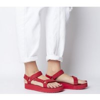 shop for Teva Midform Universal Leather RED at Shopo