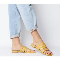 Office Sweet Dreams- Strappy Sandal YELLOW PATENT CROC