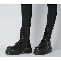 shop for Dr. Martens Jadon Hi Boot BLACK at Shopo