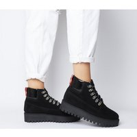 shop for Office Ability- Lace Up Hiker BLACK SUEDE at Shopo