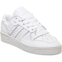 adidas Rivalry Low WHITE WHITE CORE BLACK