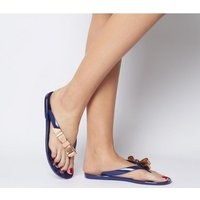 shop for Ted Baker Suzzip Flip Flop NAVY HOUDINI at Shopo