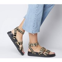 Office Stingray-  Ankle Strap Cleated Sandal TIGER COW HAIR