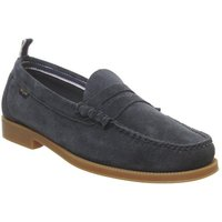 shop for G.H Bass & Co Weejun Ii Larson Suede NAVY at Shopo