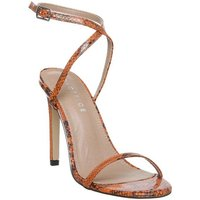 Office O- Hinch- Ankle Strap Sandal ORANGE SNAKE