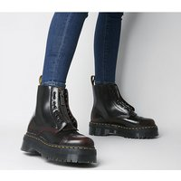 shop for Dr. Martens Sinclair Zip Boot CHERRY RED ARCADIA at Shopo