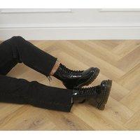 Dr. Martens 1460 Bex 8 Eye Boots BLACK PATENT