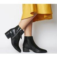 shop for Vagabond Marja Zip Ankle Boot BLACK at Shopo
