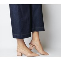 shop for Office Mindless Point Slingback Court NUDE CROC at Shopo