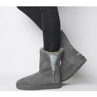 shop for UGG Classic Zip Boot CHARCOAL EXCLUSIVE at Shopo