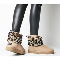 shop for UGG Fluff Mini Quilted LEOPARD at Shopo