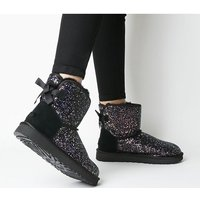 shop for UGG Classic Mini Bow Cosmos BLACK at Shopo