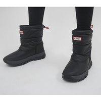Hunter Original Insulated Snow Boot Short BLACK