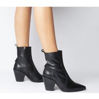 shop for Office Avail- Western Boot BLACK LEATHER at Shopo