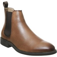 Office Bruno Chelsea Boot TAN LEATHER