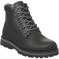 Timberland Courma 6 Inch Boot Youth BLACK FULL GRAIN