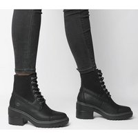 shop for Timberland Silver Blossom Mid Bootie BLACK at Shopo