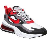Nike Air Max 270 React BLACK UNIVERSITY RED WHITE IRON GREY
