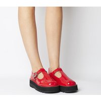 shop for Kickers Kick Trixie RED PATENT LEATHER at Shopo