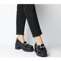 shop for Kickers Klio Loafer BLACK PATENT LEATHER at Shopo