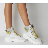 Buffalo Giselle Sneaker Boot WHITE