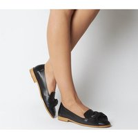 Office Filly Bow Loafer BLACK LEATHER
