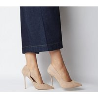 Office Happiness- Court Shoe NUDE SUEDE