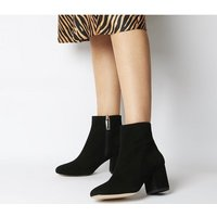 Office Amoretti- Black Heel Boot BLACK SUEDE