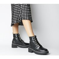 shop for Office Apprentice- Hiker Lace Up Boot BLACK MIX at Shopo