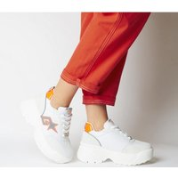 shop for Go Sexy Turbo Sneaker WHITE ORANGE FLOUR at Shopo