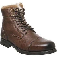 Office Buckley Lace Boot TAN LEATHER