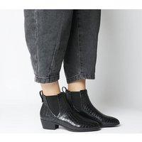 shop for Office Anton Chelsea Boots BLACK CROC at Shopo