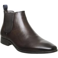 Office Boe Chelsea Boot BROWN LEATHER