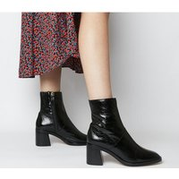 shop for Office Artisan- Block Heel Rand Boot BLACK LEATHER at Shopo