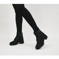 shop for Timberland Kinsley Boot BLACK NUBUCK at Shopo