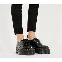 shop for Dr. Martens Holly 2 Eye Shoe BLACK at Shopo