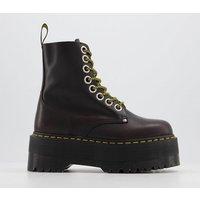 shop for Dr. Martens Jadon Max Boot OXBLOOD ATLAS at Shopo